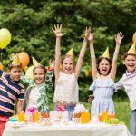 Una fiesta de cumpleaños en la naturaleza